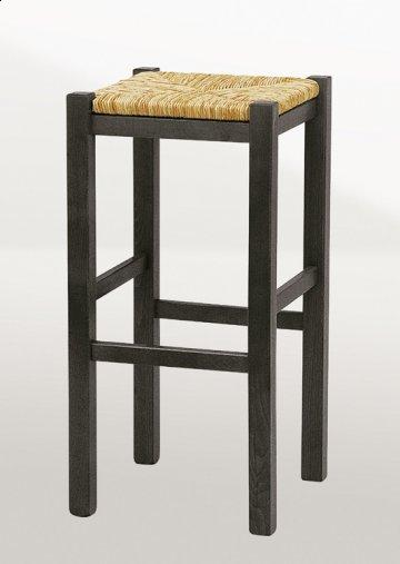 2 PC Backless Wenge Bar Stool Set