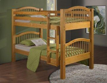 Maple Twin Bunk Bed