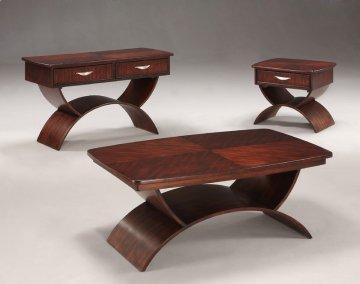 3 PC Cirque Occasional Table Set