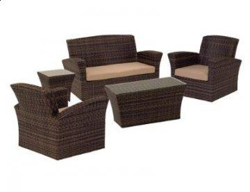 5 PC Maui Outdoor Living Room Furniture Set