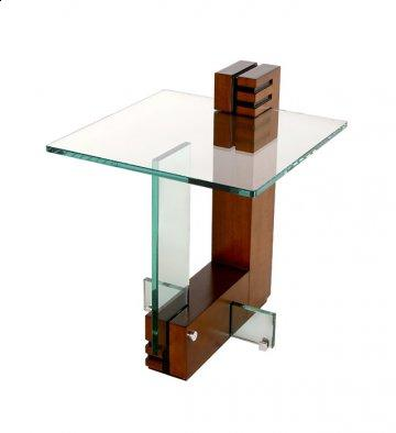 Athus Glass End Table