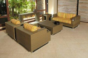Serrano Patio Loveseat Set