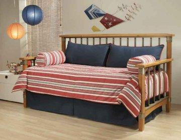 Hobie Red Daybed Bedding Set