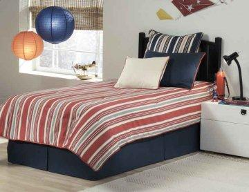 Hobie Red Twin Premium Pack Bedding Set