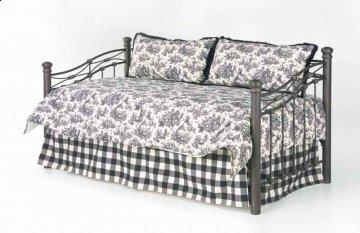 Jolie Black Daybed Bedding Set