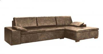 Prado Leather Sectional Sofa