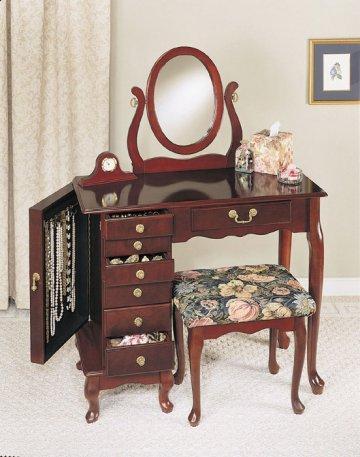Heirloom Jewelry Armoire Vanity Set