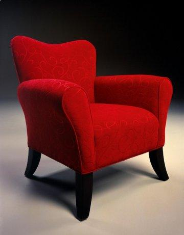 Katherine Red Accent Chair