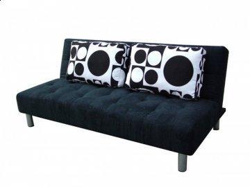 Denmark Microfiber Convertible Sofa