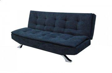 Helsinki Black Convertible Sofa