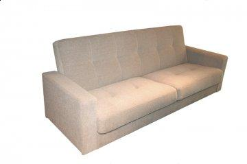 Holland Oatmeal Storage Convertible Sofa