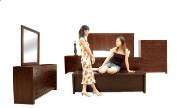 Luis Platform Bedroom Set
