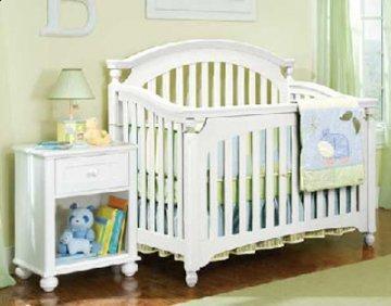 MyStyle White Baby Crib