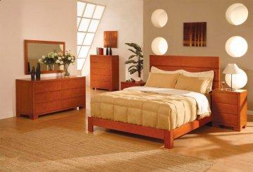 Thames Cherry Platform Bedroom Set