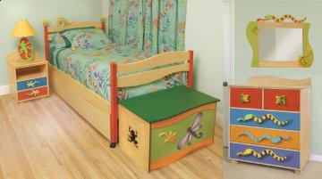 4 PC Little Lizard Twin Storage Bedroom Furniture Set