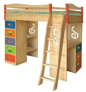 Little Lizard Loft Bed