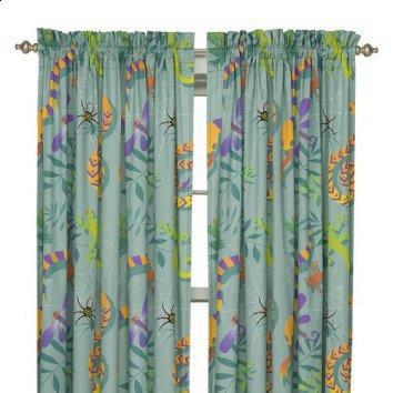 Little Lizard Window Curtain Set