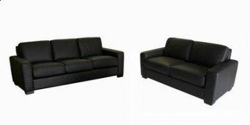 Malia Leather Sofa Set