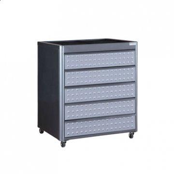 Hot Rod 5 Drawer Floor Cabinet