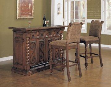 3 PC La Questa Bar Furniture Set