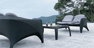 Dedon Phoenix Sofa and Coffee table - Outdoor Furniture