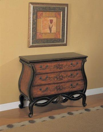 Masterpiece Pierced Apron Hall Chest