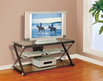 Zee Sandy Black Large TV Stand
