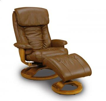 Saddle Leather Recliner
