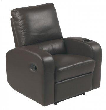 Pisa Coffee REC-525 Series Leather Recliner