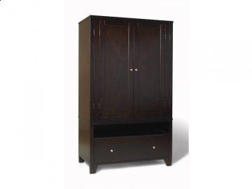 500 Series Cappuccino Armoire by Lifestyle Solutions