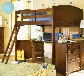 Deer Run Twin Loft Bed