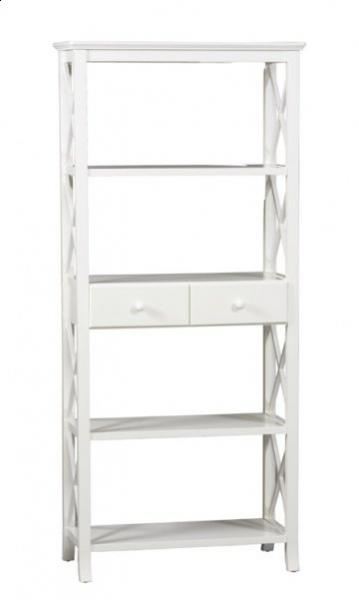 Warwick White Bookshelf