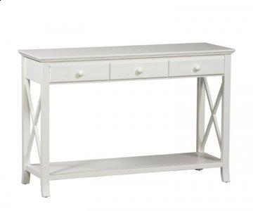 Warwick White Sofa Table