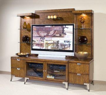 Concorde Suite Entertainment Wall Unit