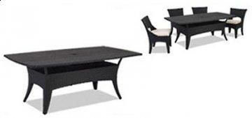 7 PC Laguna Outdoor Dining Room Furniture Set