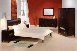 Retro Platform Bedroom Set