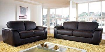 Charleston Leather Sofa Set
