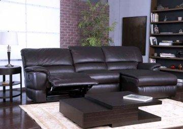Ferrara Leather Recliner Sectional Sofa
