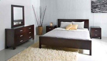 Soho Low Profile Bedroom Furniture Set