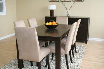 Dining furniture for less interior design company for Modern furniture for less