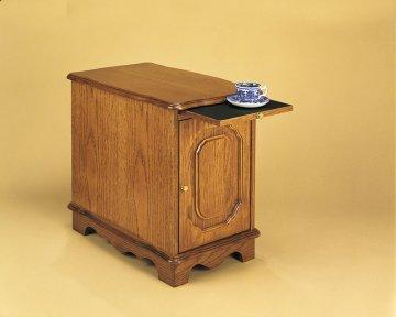 Nostalgic Oak Magazine End Table
