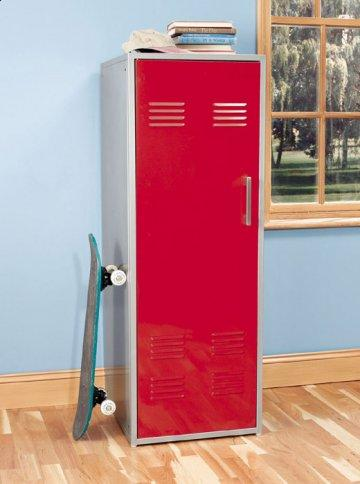 Teen Trends Primary Red Armoire
