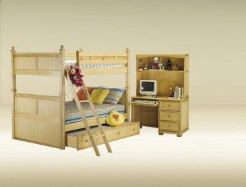 Birch Full/Full Bead Board Bunk Bed