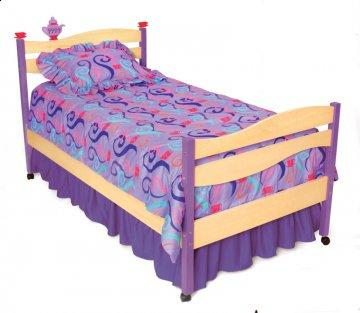 3 PC Girl Teaset Twin Bedding Set