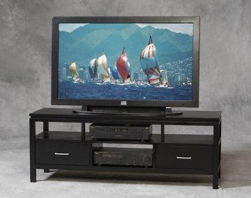 Sutton Black Plasma TV Stand