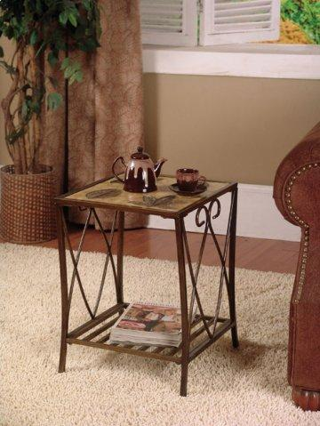 Garden District Cinnamon End Table
