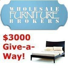 $3000 Give-Away Starts Today at Wholesale Furniture Brokers!