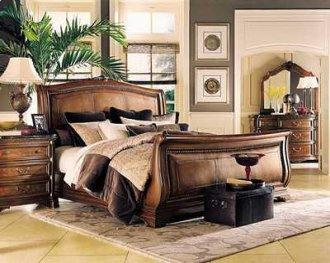Grand Revival sleigh bedroom set