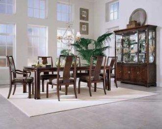 Tansu parsons leg table set