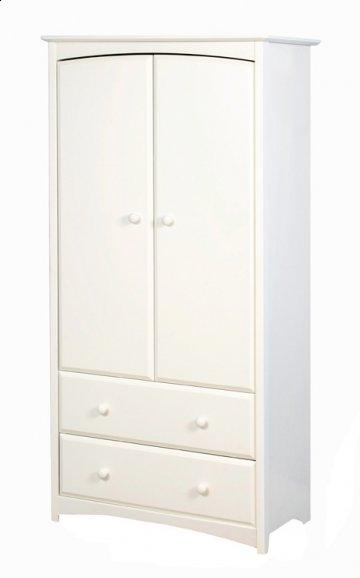 Beatrice White Armoire
